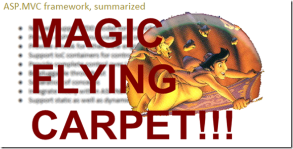 MAGIC FLYING CARPET!!!